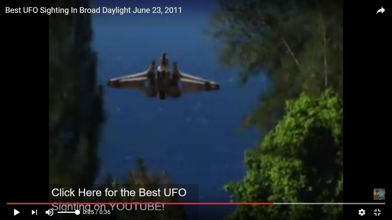 Best UFO Sighting In Broad Daylight June 23, 2011