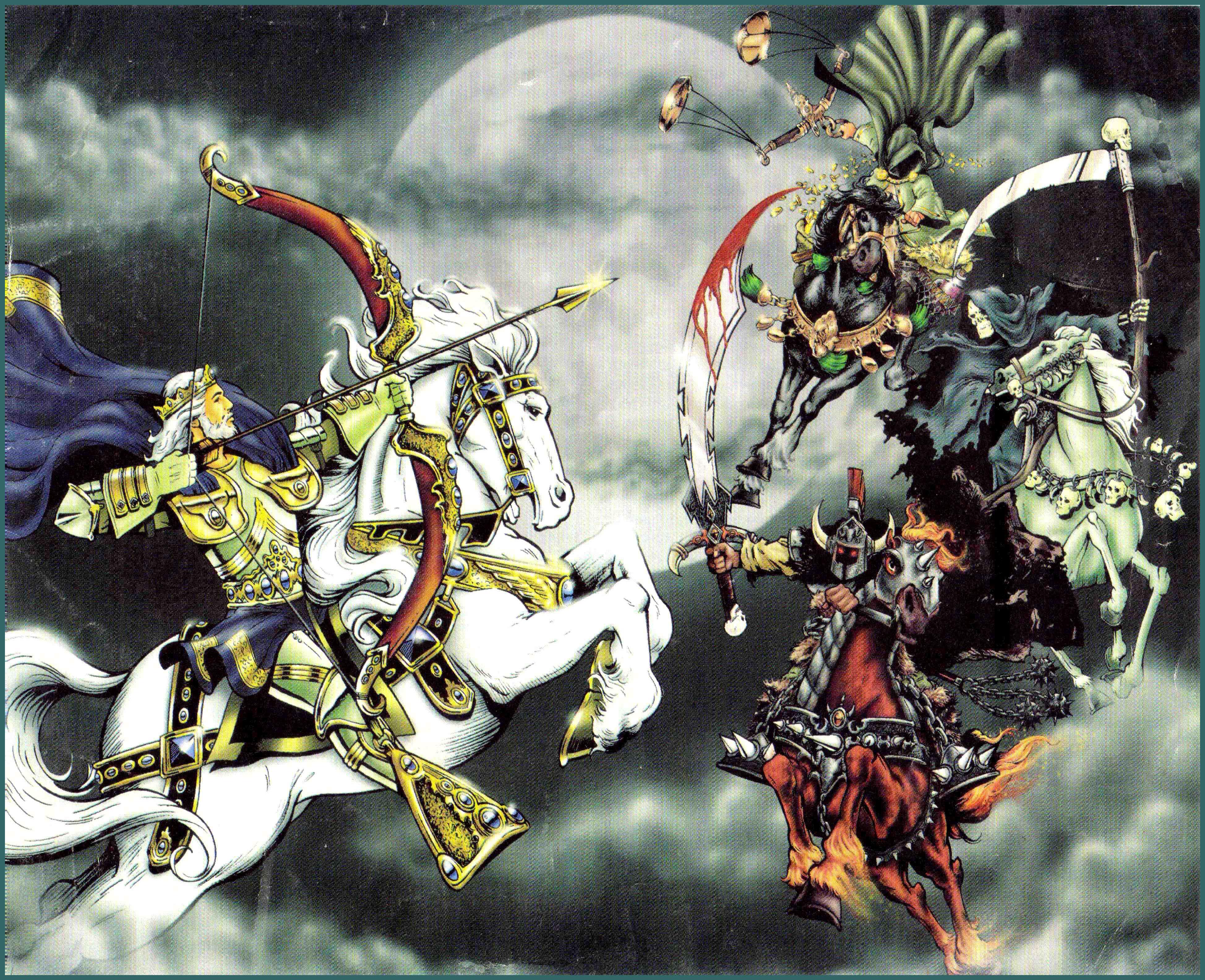 Het witte paard van de valse vrede (Armageddon)