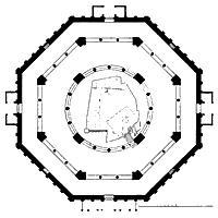 Plattegrond Rots Tempel