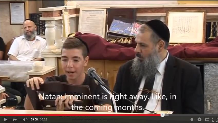 Rabbi Rami Levy & 15 year Old Natan