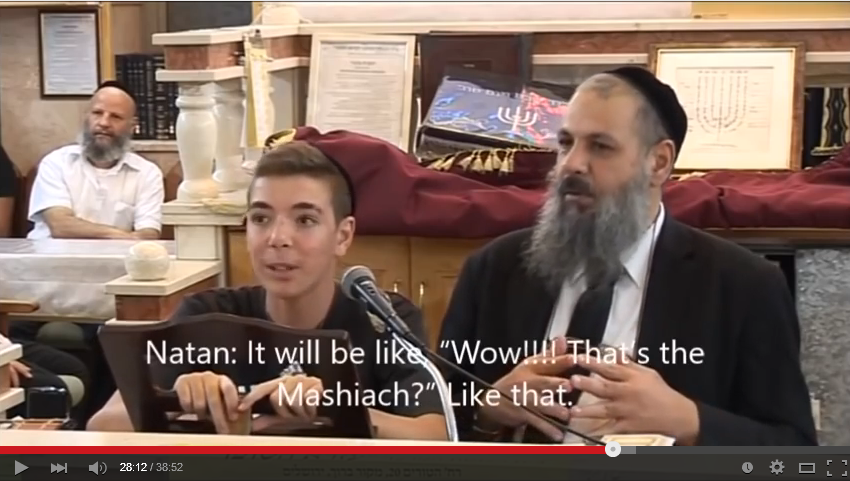 Rabbi Rami Levy & 15 year old Natan