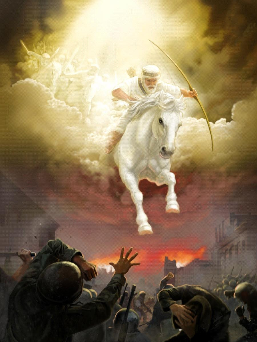 The white horse of Armageddon
