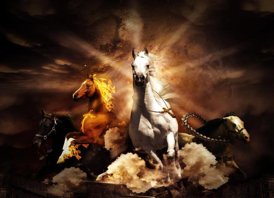 Het witte paard van de valse vrede