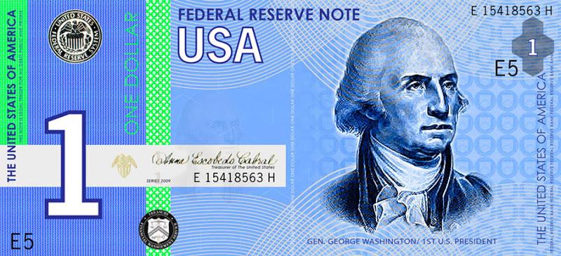 Nieuwe Amerikaanse Dollar