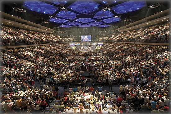 Worship centre with 7,000 seats