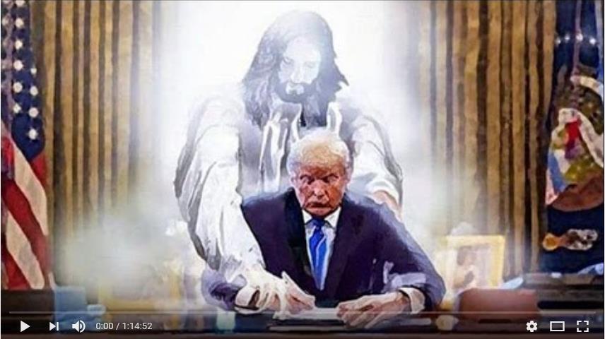 Jezus en Donald Trump