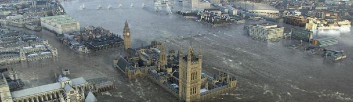 London onder water
