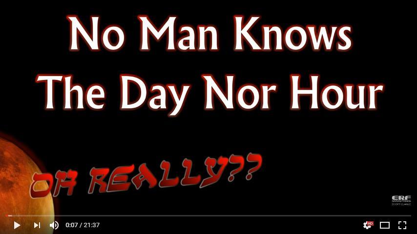 Niemand weet de dag en het uur